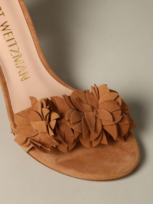 Sandales à talons Stuart Weitzman: Sandales à talons femme Stuart Weitzman cuir 4
