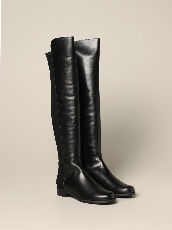 Boots women Stuart Weitzman black 2