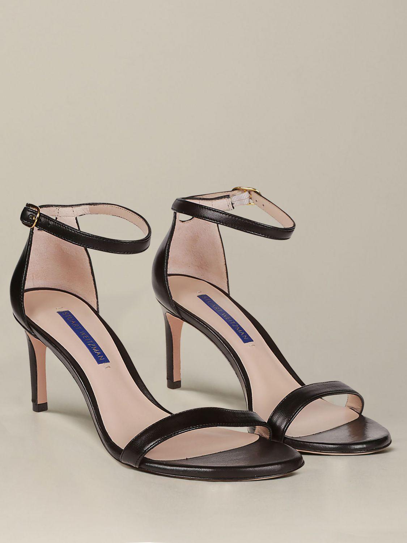 Sandales à talons Stuart Weitzman: Sandales à talons femme Stuart Weitzman noir 2