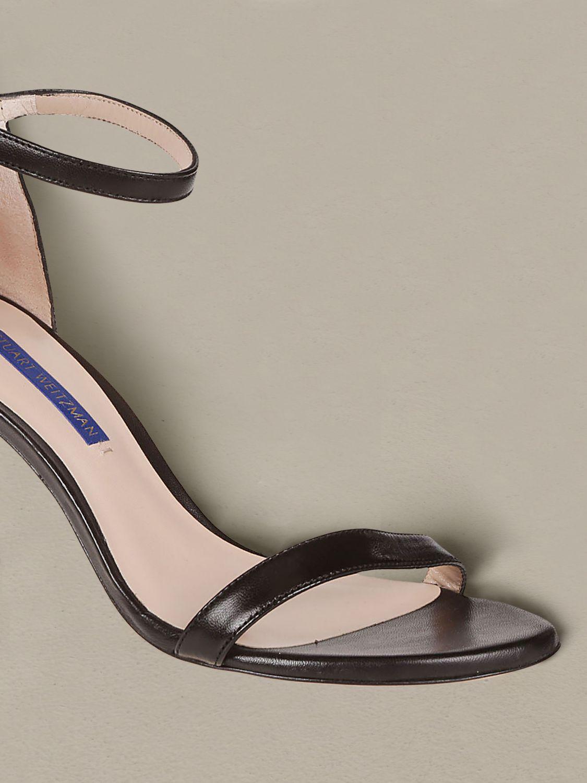 Sandales à talons Stuart Weitzman: Sandales à talons femme Stuart Weitzman noir 3
