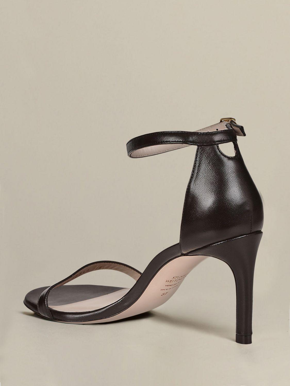 Sandales à talons Stuart Weitzman: Sandales à talons femme Stuart Weitzman noir 4