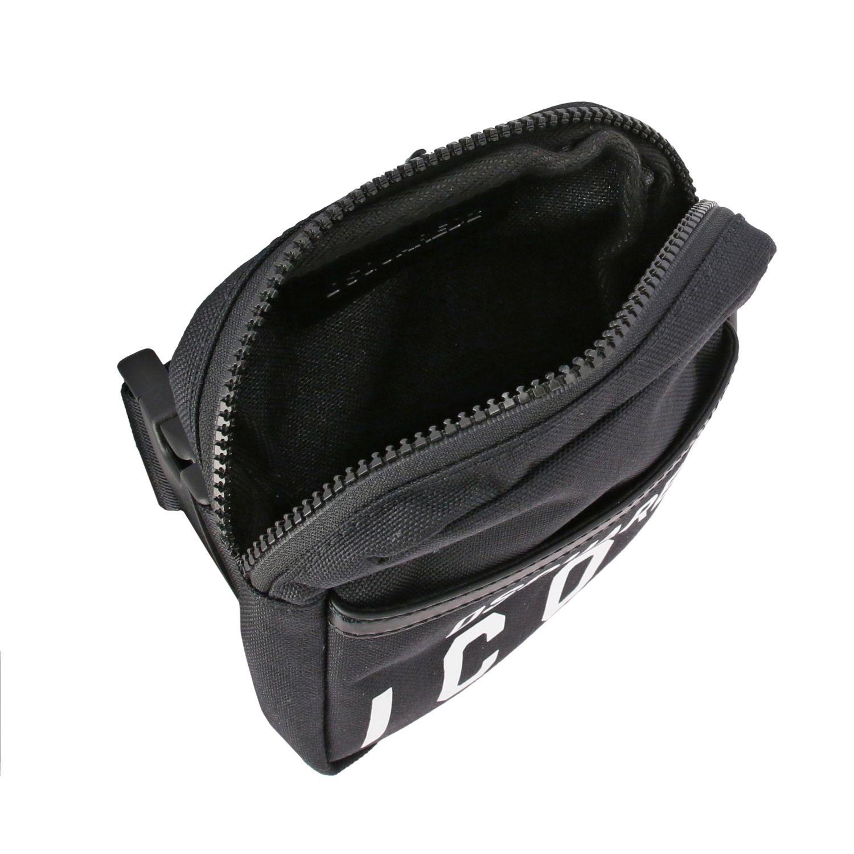 Umhängetasche Dsquared2: Tasche herren Dsquared2 schwarz 5