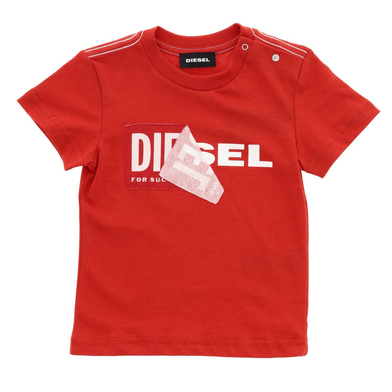 T-shirt Diesel: T-shirt kids Diesel red 1