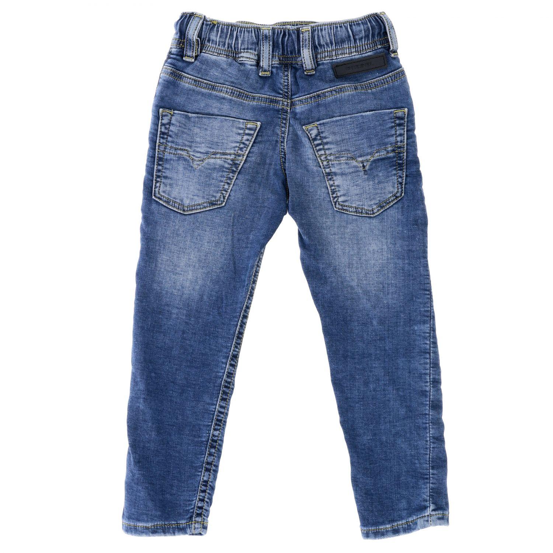 Diesel jeans in used denim with drawstring denim 2