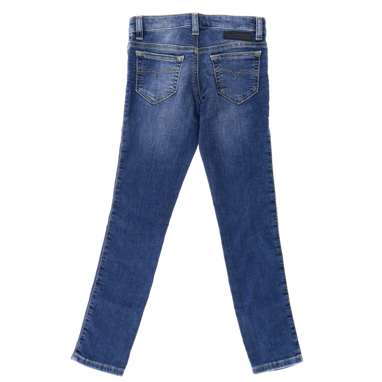 Diesel jeans in used denim with tears denim 2