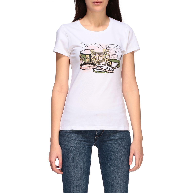Camiseta mujer Liu Jo blanco 1