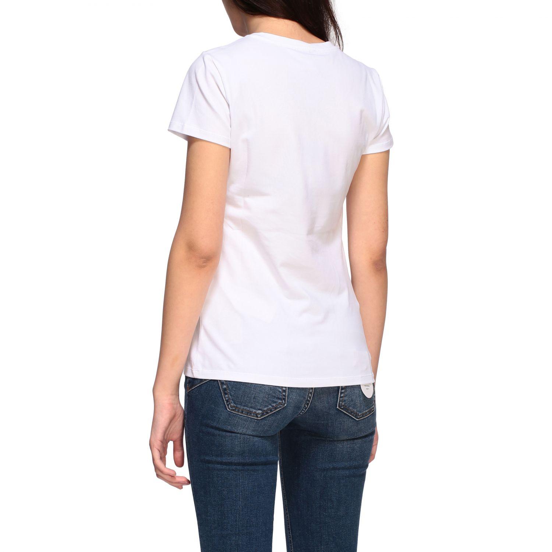Camiseta mujer Liu Jo blanco 3