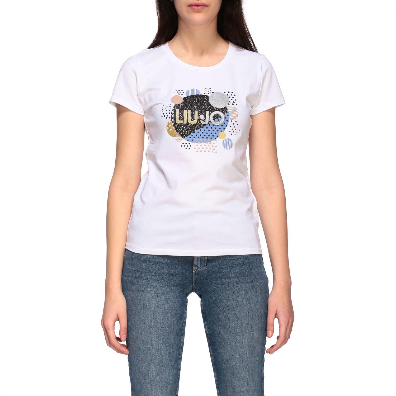 Camiseta mujer Liu Jo blanco 1 1
