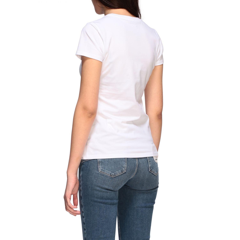 Camiseta mujer Liu Jo blanco 1 3