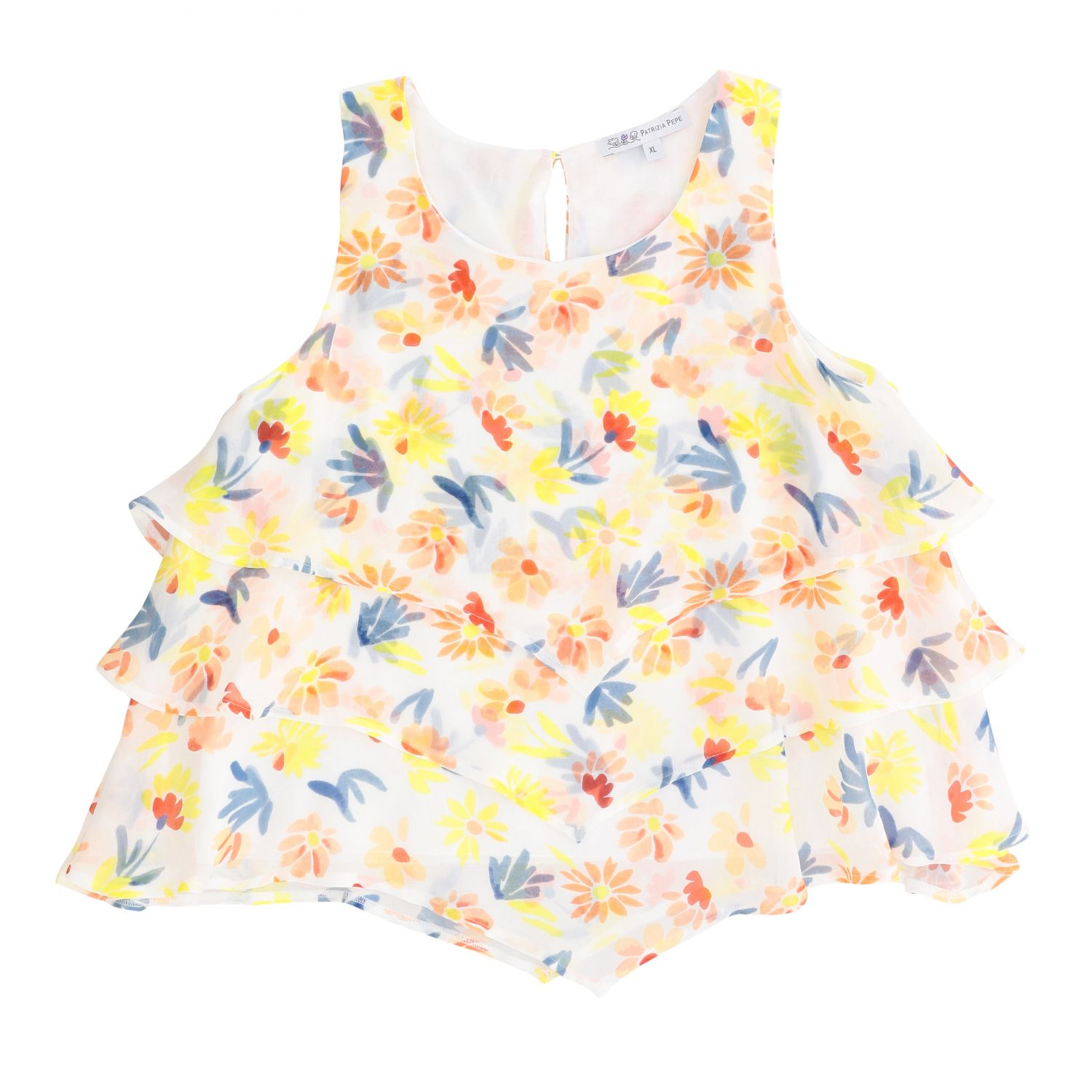 Top kids Patrizia Pepe white 1