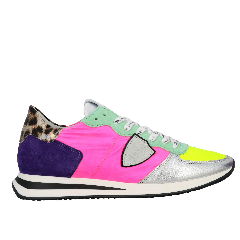 Sneakers women Philippe Model multicolor 1