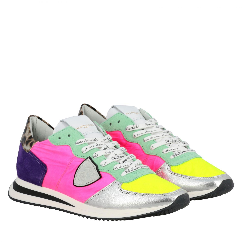 Sneakers women Philippe Model multicolor 2
