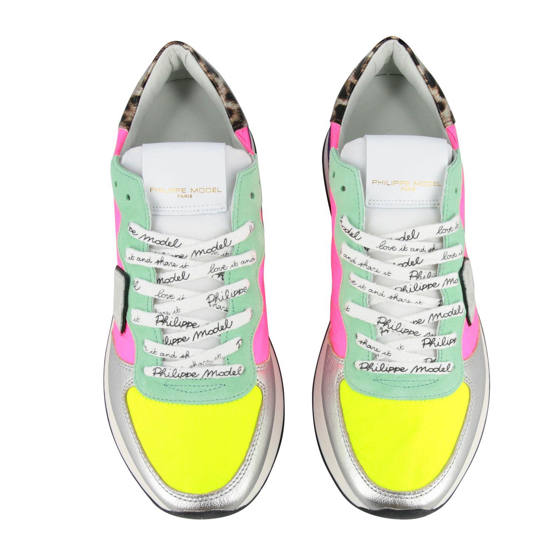 Sneakers women Philippe Model multicolor 3