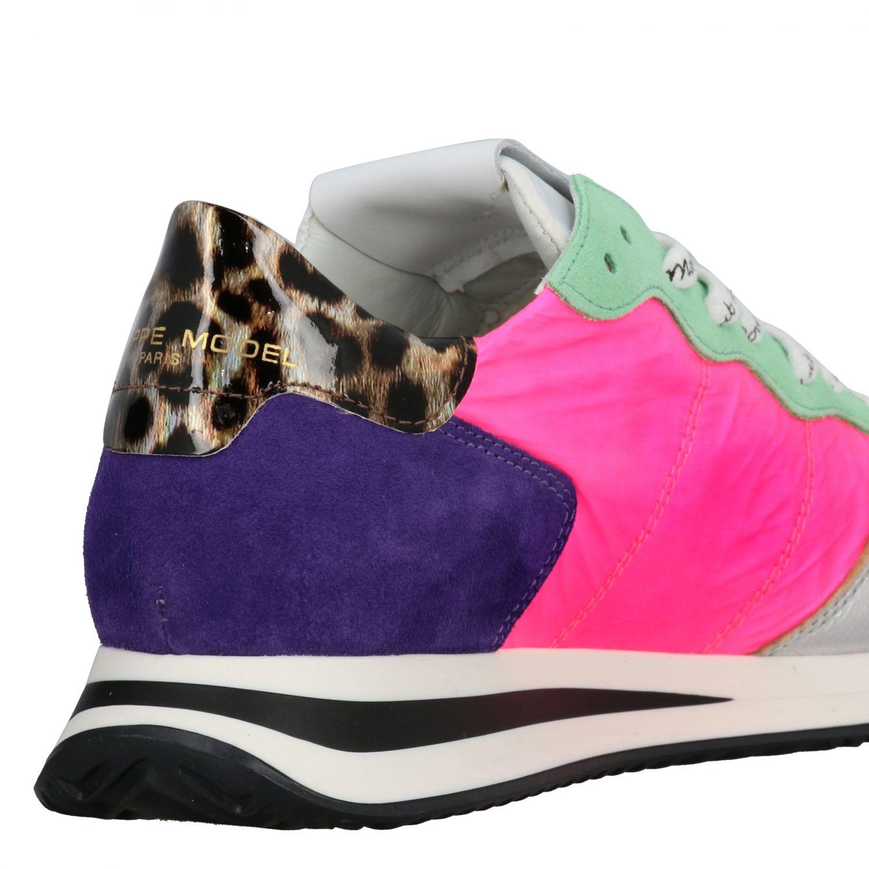 Sneakers women Philippe Model multicolor 5