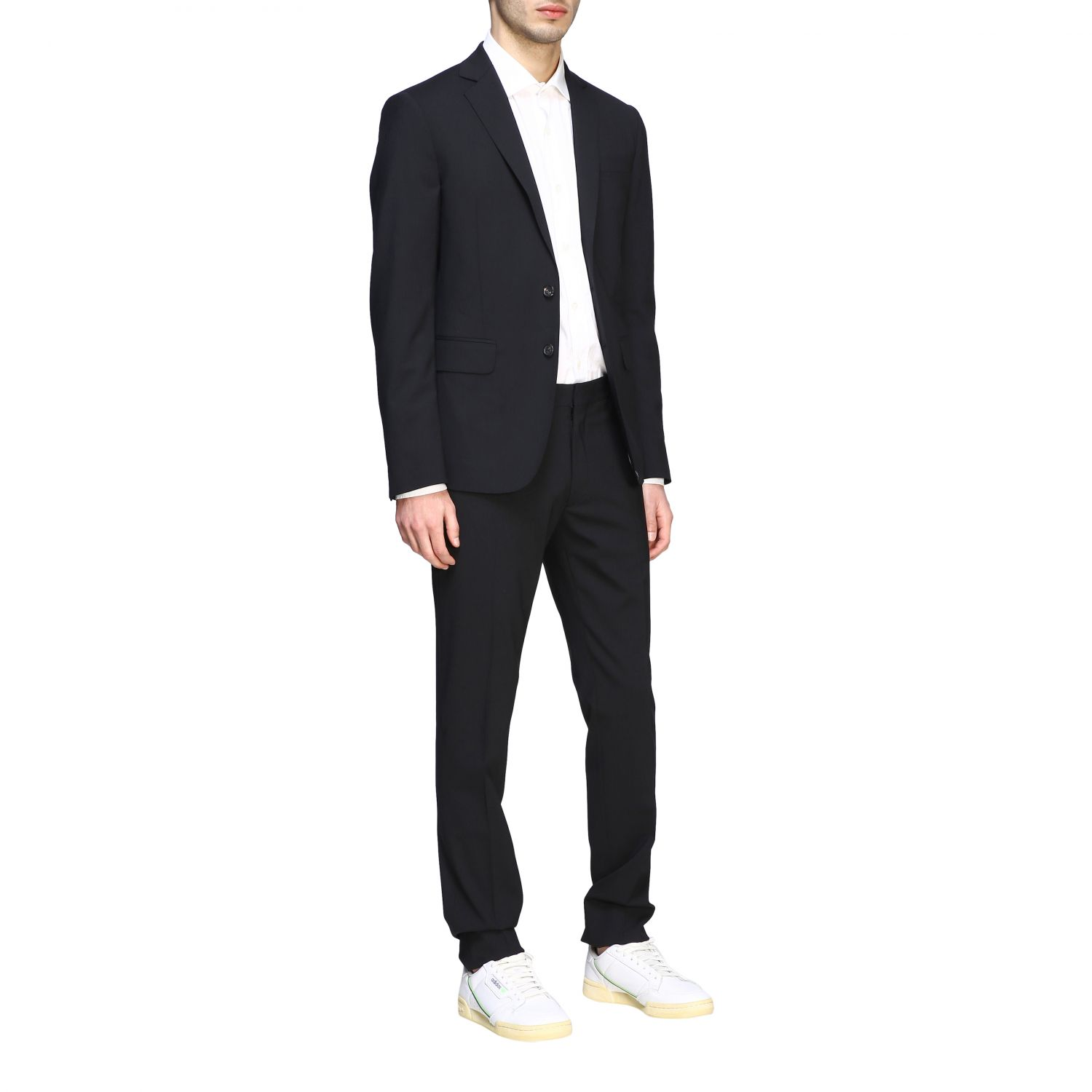 Suit Dsquared2: Dsquared2 suit in basic single-breasted virgin wool blend black 2