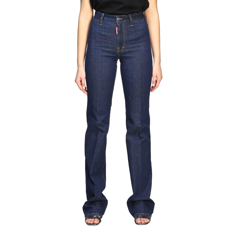 Jeans droit Dsquared2 denim 1