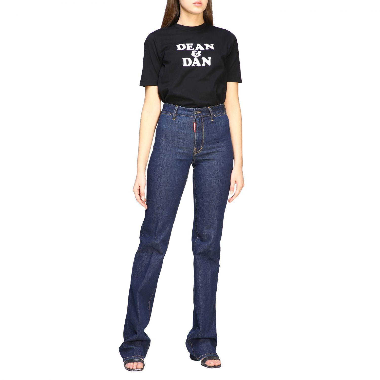 Jeans droit Dsquared2 denim 2