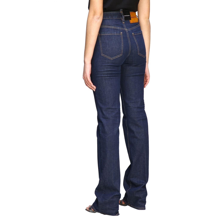 Jeans droit Dsquared2 denim 3