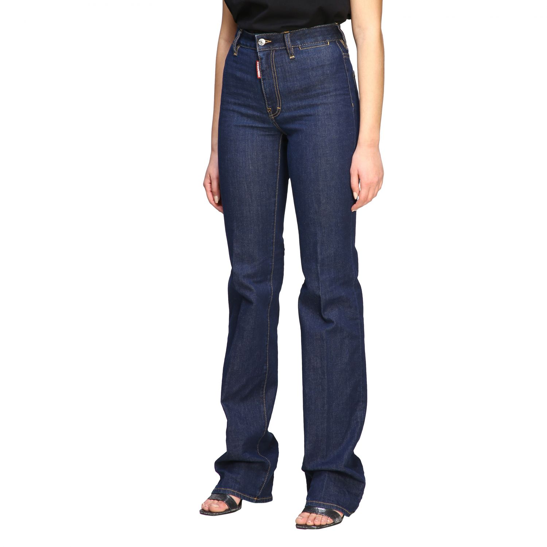 Jeans droit Dsquared2 denim 4