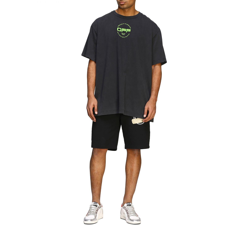 T-shirt men Off White black 2
