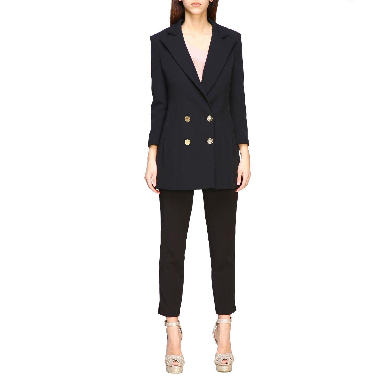 Jacket women Elisabetta Franchi black 1