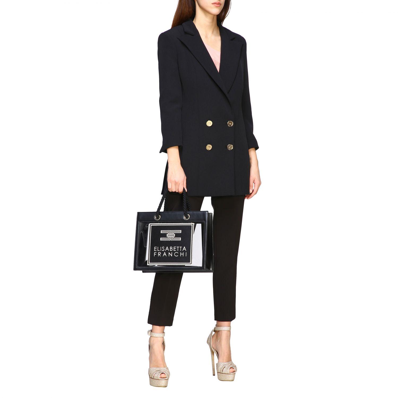 Jacket women Elisabetta Franchi black 2
