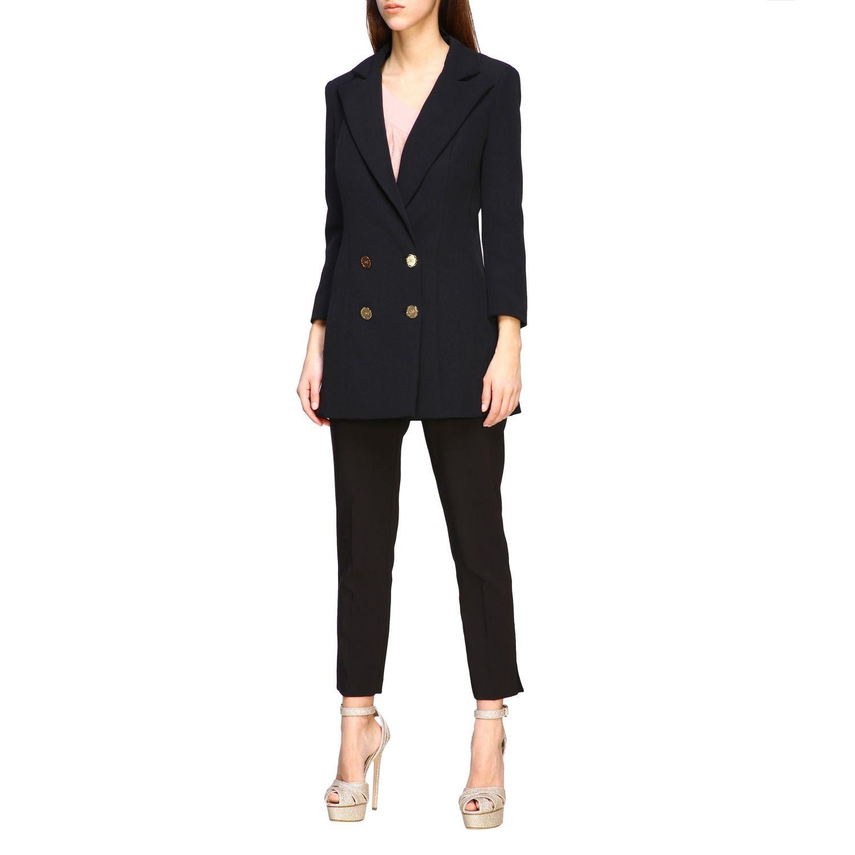 Jacket women Elisabetta Franchi black 4