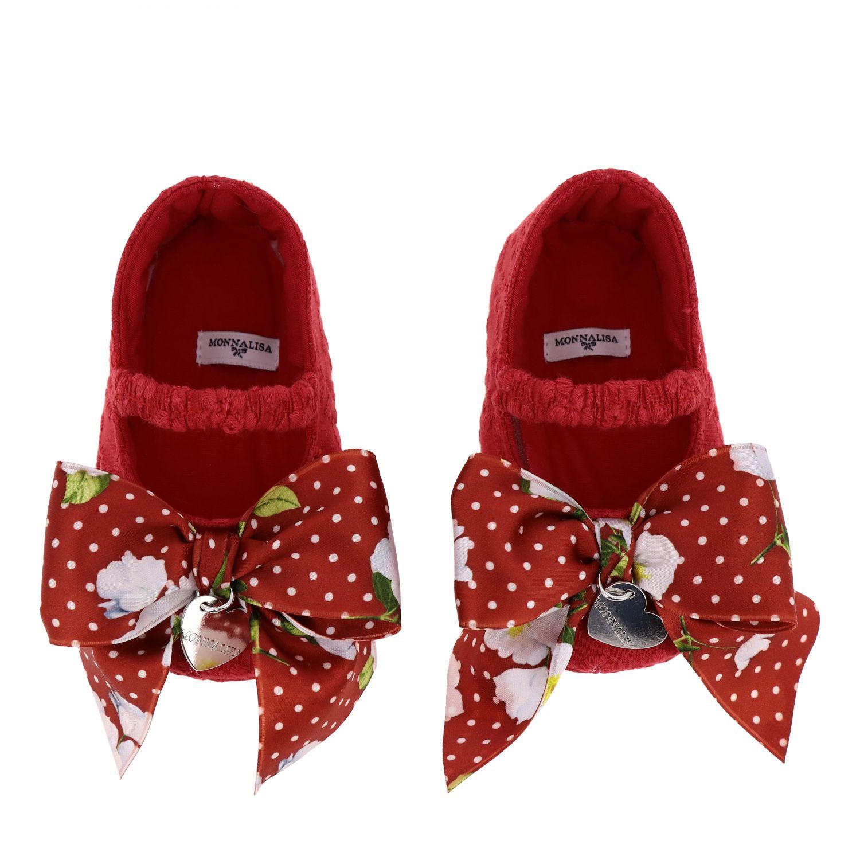 鞋履 儿童 Monnalisa Bebe' 红色 3