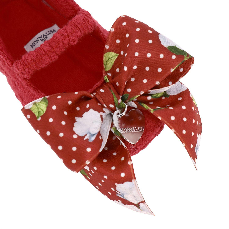 鞋履 儿童 Monnalisa Bebe' 红色 4