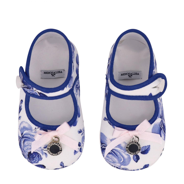 鞋履 儿童 Monnalisa Bebe' 白色 3
