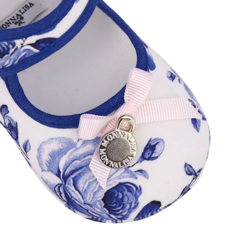 鞋履 儿童 Monnalisa Bebe' 白色 4