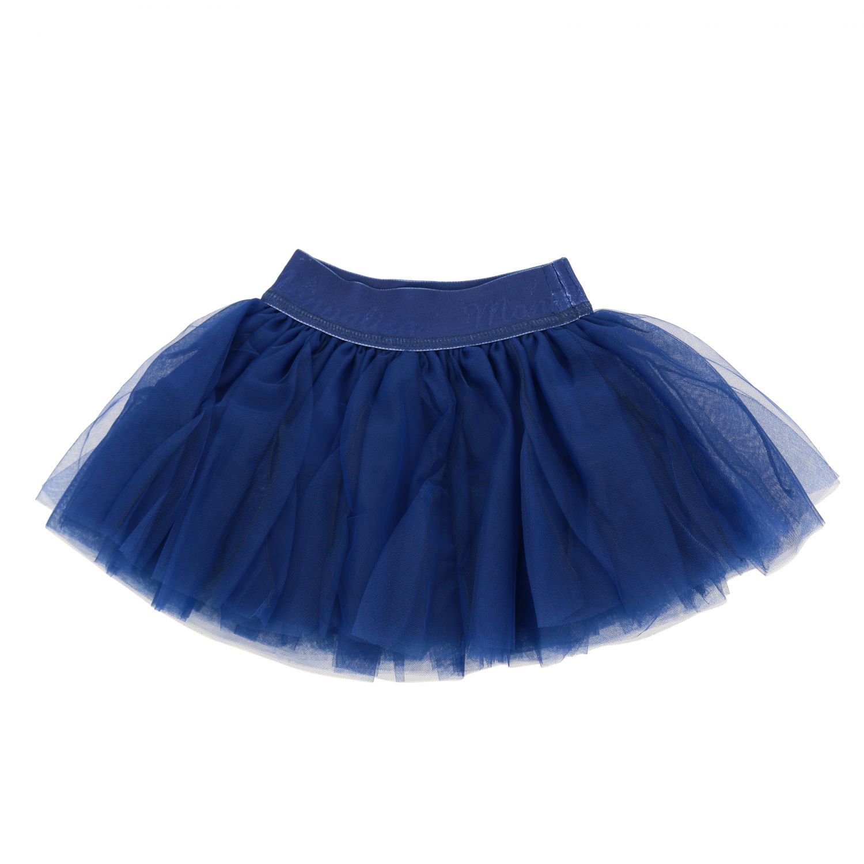 Jupe Monnalisa Bebè en tulle bleu marine 1