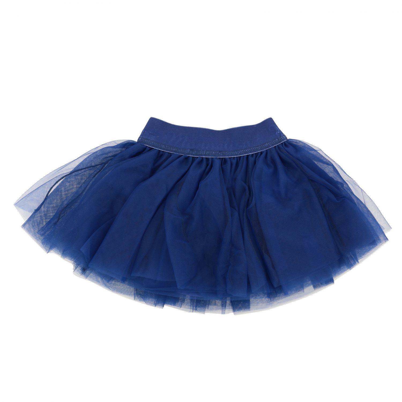 Jupe Monnalisa Bebè en tulle bleu marine 2