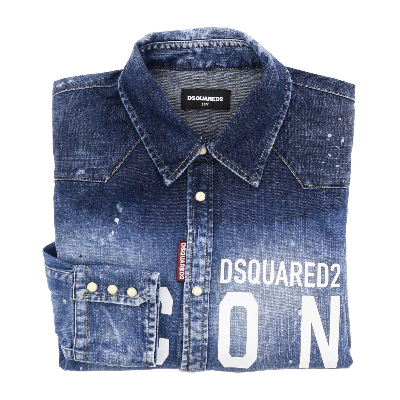 Shirt Dsquared2 Junior: Shirt kids Dsquared2 Junior blue 1