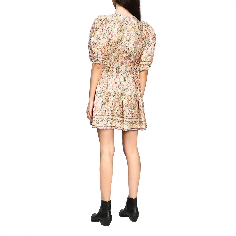Robes Zimmermann: Mini robe Zimmermann à manches ballons multicolore 2