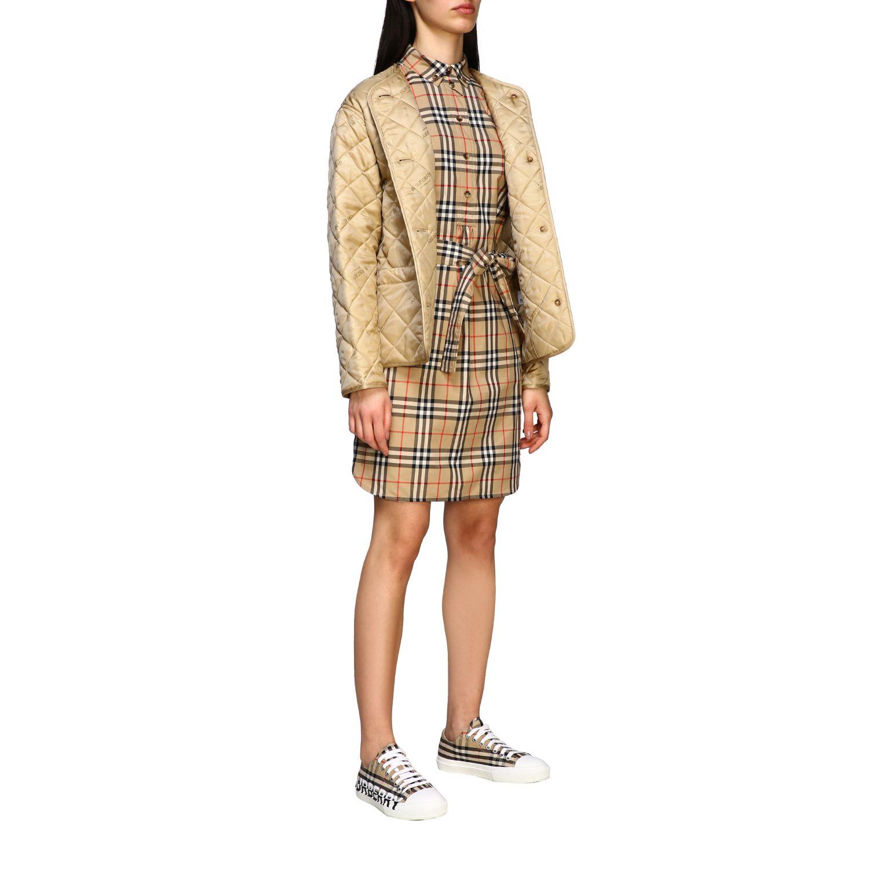 Куртка Женское Burberry экрю 2