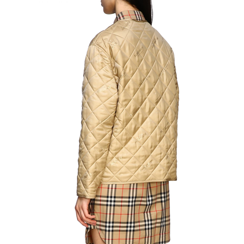 Куртка Женское Burberry экрю 3