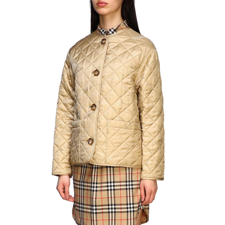Куртка Женское Burberry экрю 4