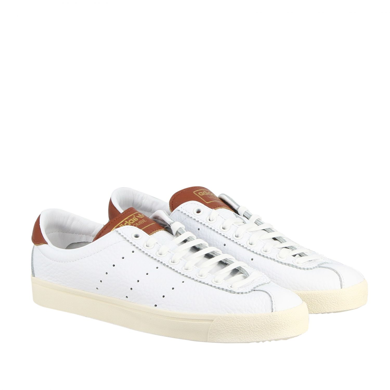 Sneakers Adidas Originals: Sneakers lacombe Adidas Originals in pelle con contrasti e logo bianco 2