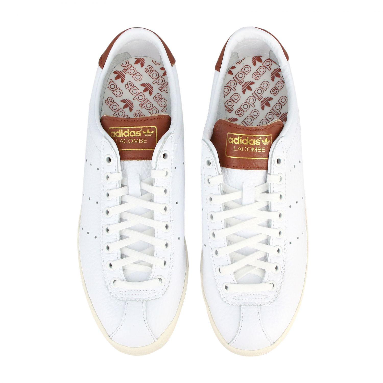 Sneakers Adidas Originals: Sneakers lacombe Adidas Originals in pelle con contrasti e logo bianco 3