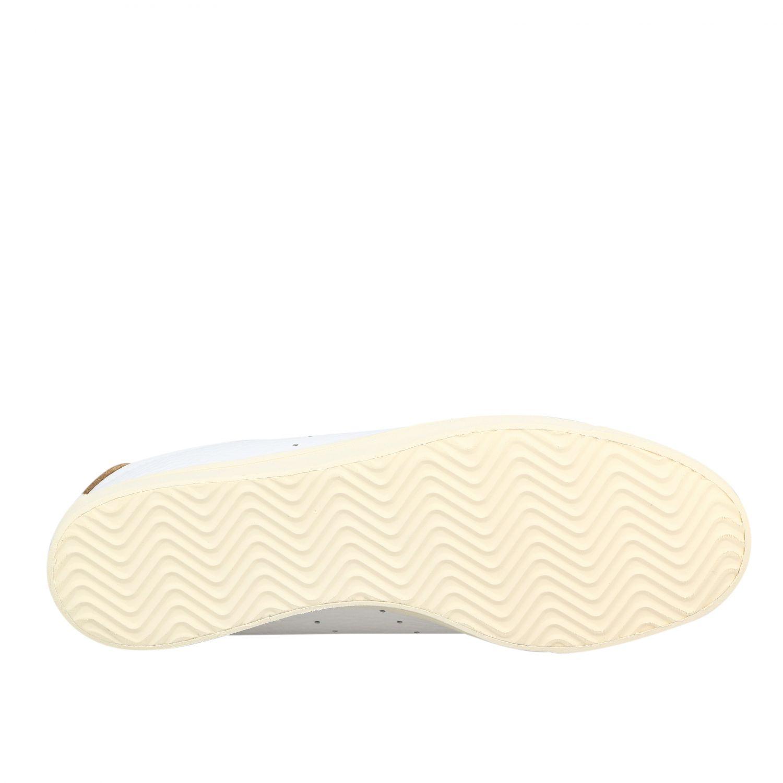 Sneakers Adidas Originals: Sneakers lacombe Adidas Originals in pelle con contrasti e logo bianco 6