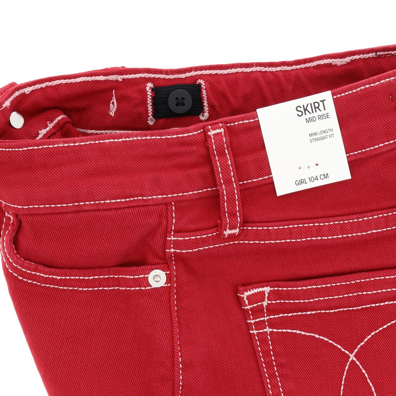 Skirt kids Calvin Klein red 3