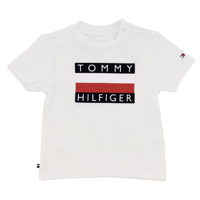 T-shirt kids Tommy Hilfiger white 1