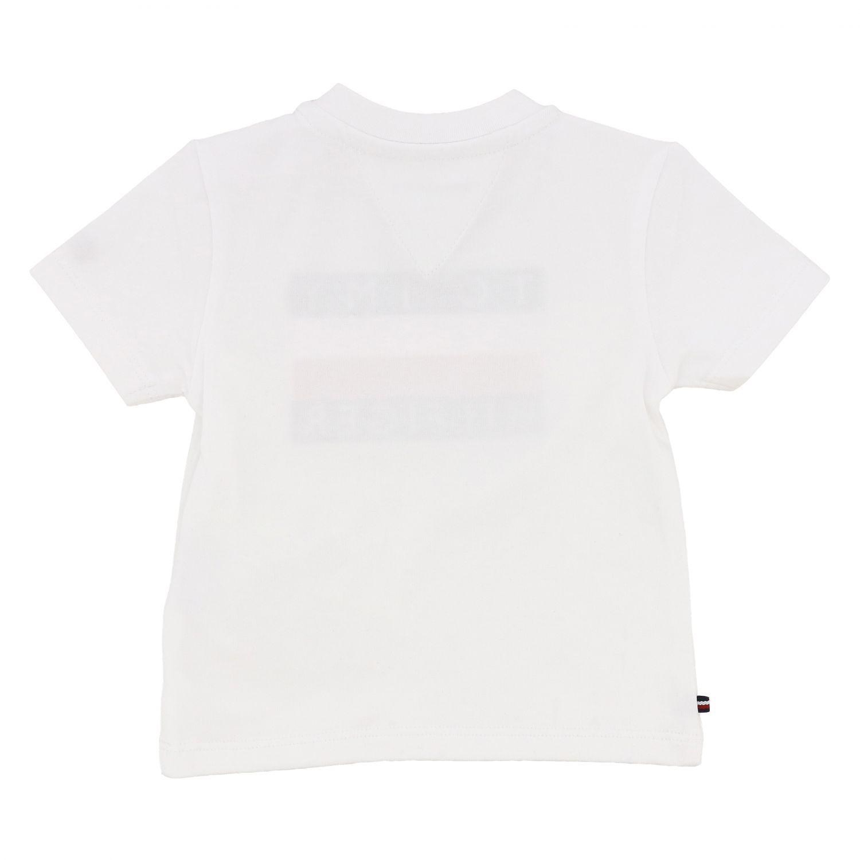 T-shirt kids Tommy Hilfiger white 2