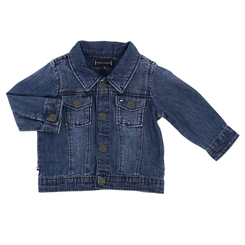 Tommy Hilfiger denim jacket with back logo denim 1