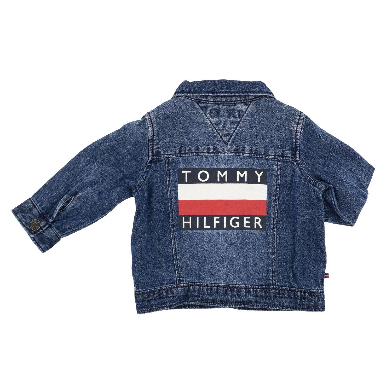 Tommy Hilfiger denim jacket with back logo denim 2