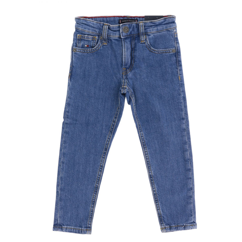 Tommy Hilfiger jeans in used denim with printed pocket denim 1