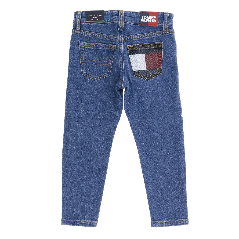 Tommy Hilfiger jeans in used denim with printed pocket denim 2