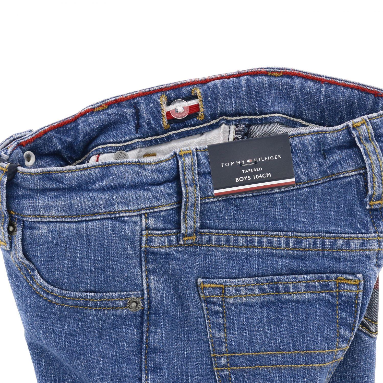 Tommy Hilfiger jeans in used denim with printed pocket denim 3