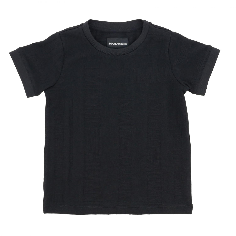 T-shirt kids Emporio Armani black 1